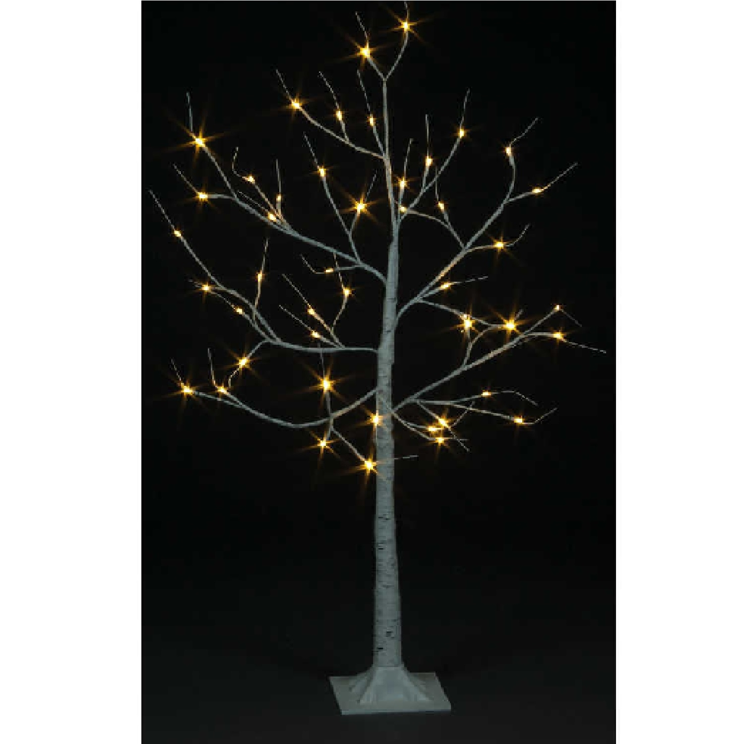 Click to view product details and reviews for 120cm Birch Tree With 48 Warm White Leds Including 12 Flash Bulbs.