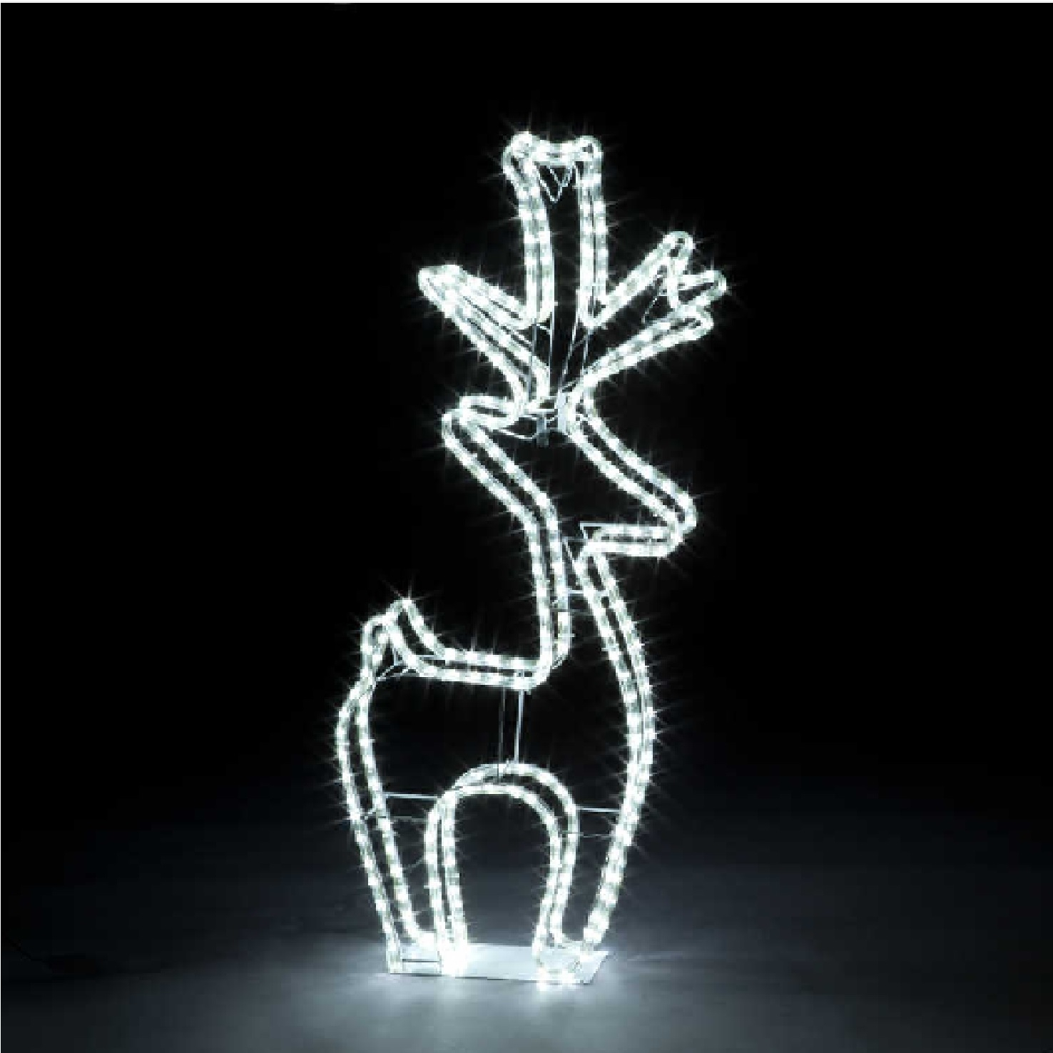 Click to view product details and reviews for 100cm Ropelight Deer With 288 White Leds.