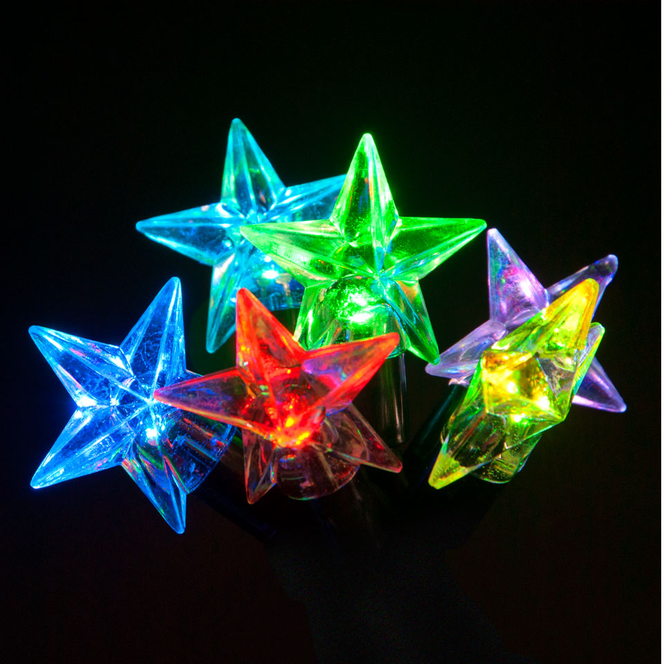 Click to view product details and reviews for 100 Connectable Colour Changing Led Star Lights On Rubber Cable.
