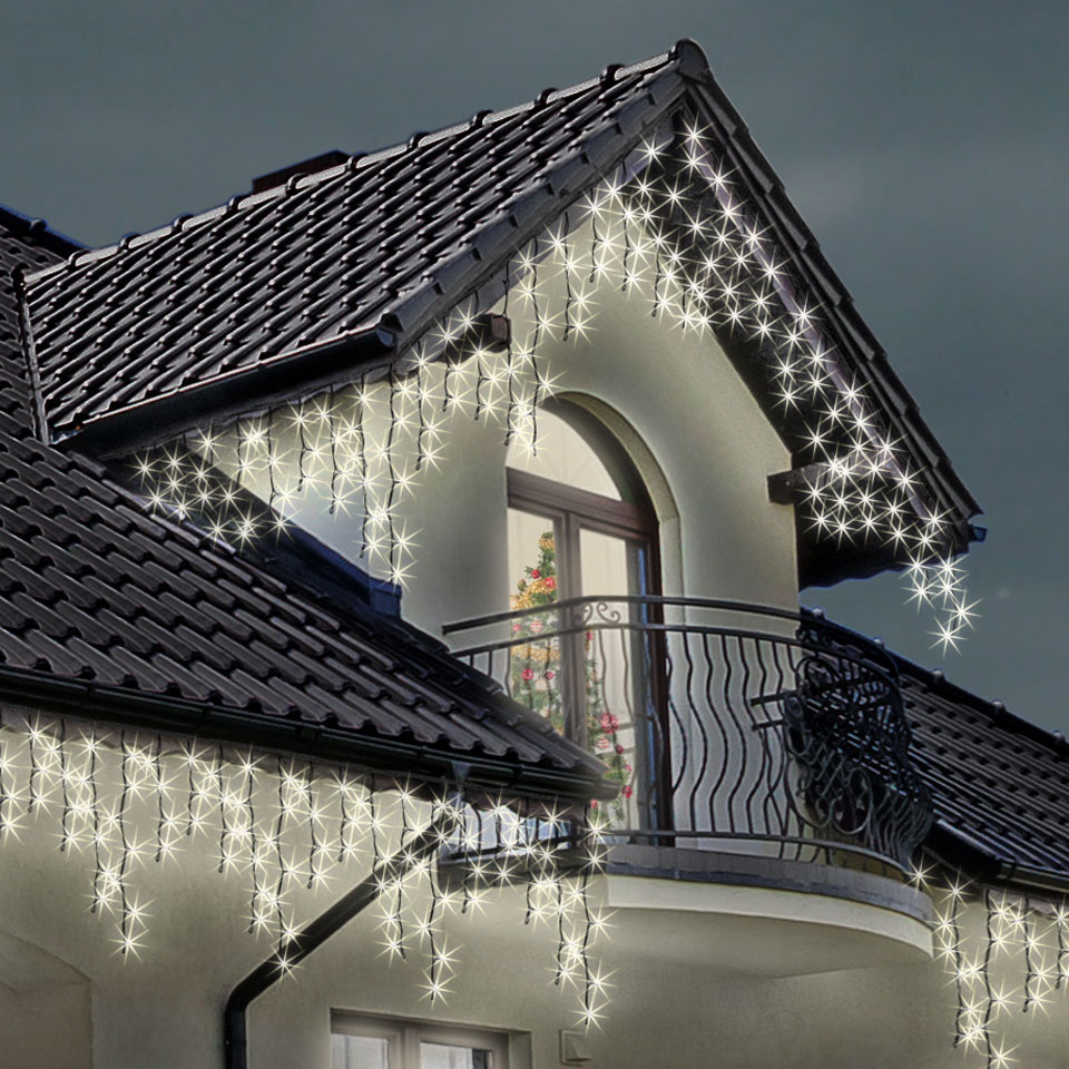 Led christmas icicle lights shop for cheap lighting and